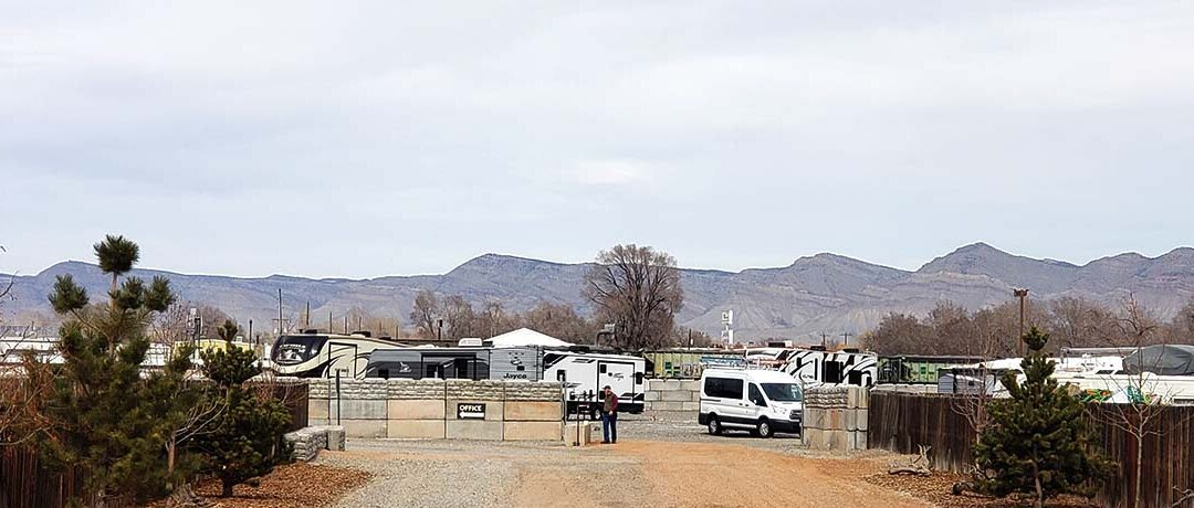 Safe, Secure, & Clean RV and Boat Storage in Grand Junction