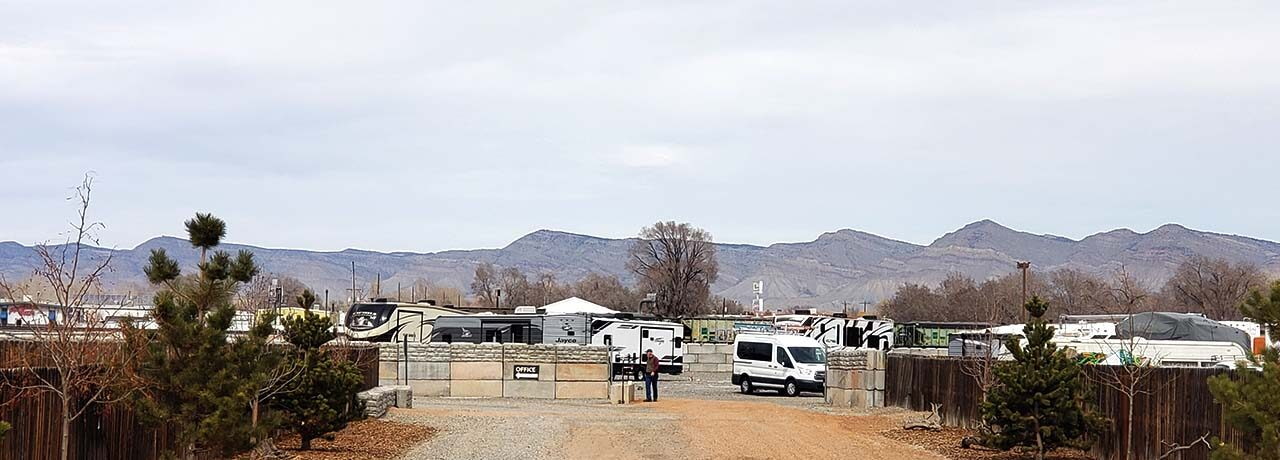Fort Knox RV Storage Grand Junction security Entrance