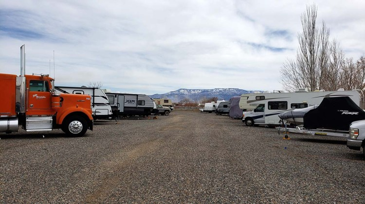 Image of the Inside of Fort Knox RV Storage in Grand Junction