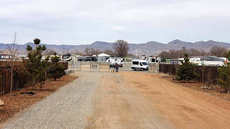 Access to Fort Knox RV Storage in Grand Junction